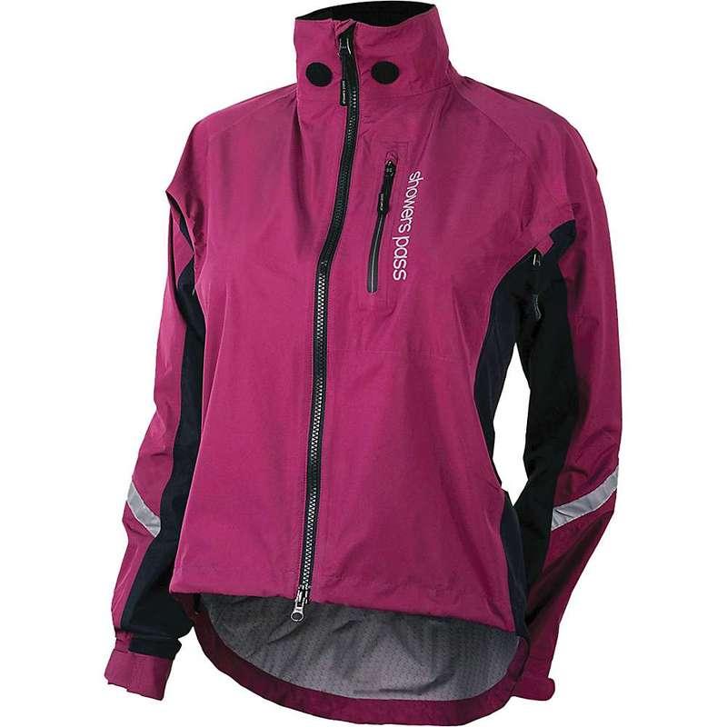 シャワーパス レディース ジャケット・ブルゾン アウター Showers Pass Women's Double Century RTX Jacket Plum