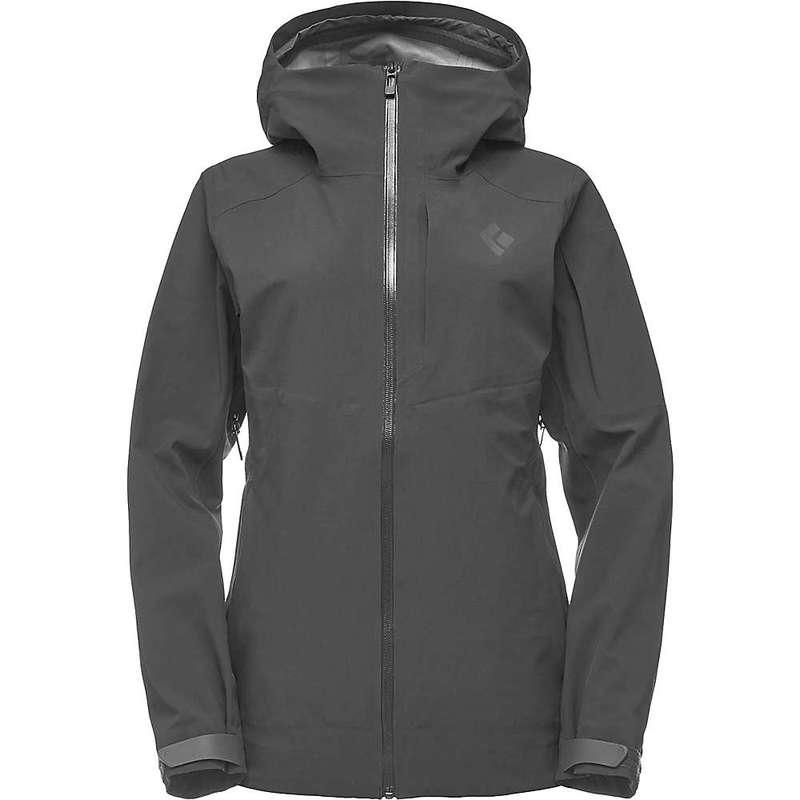 ブラックダイヤモンド レディース ジャケット・ブルゾン アウター Black Diamond Women's Recon Stretch Ski Shell Jacket Black