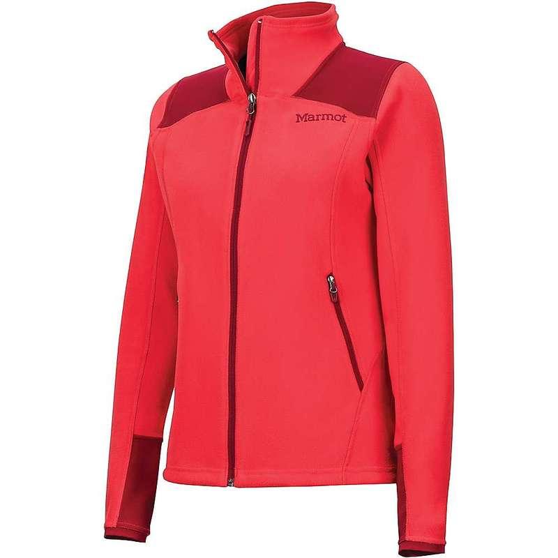 マーモット レディース ジャケット・ブルゾン アウター Marmot Women's Flashpoint Jacket Scarlet Red / Brick