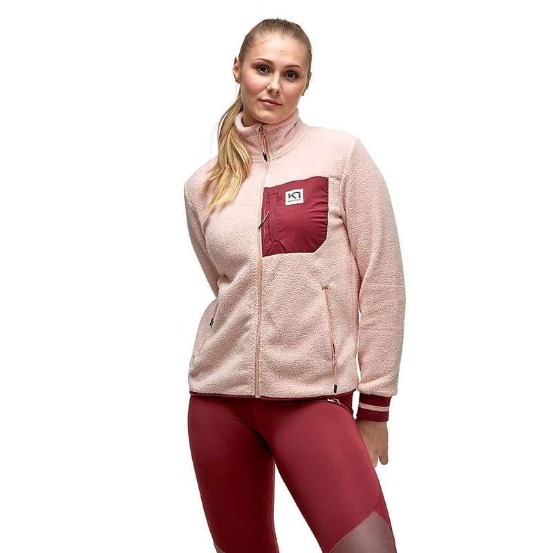 カリ ツラー レディース ジャケット・ブルゾン アウター Kari Traa Women's Rothe Midlayer Jacket Pale