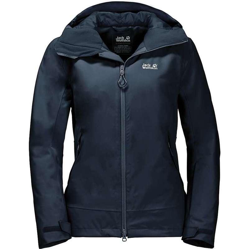 ジャックウルフスキン レディース ジャケット・ブルゾン アウター Jack Wolfskin Women's Exolight Peak Jacket Midnight Blue