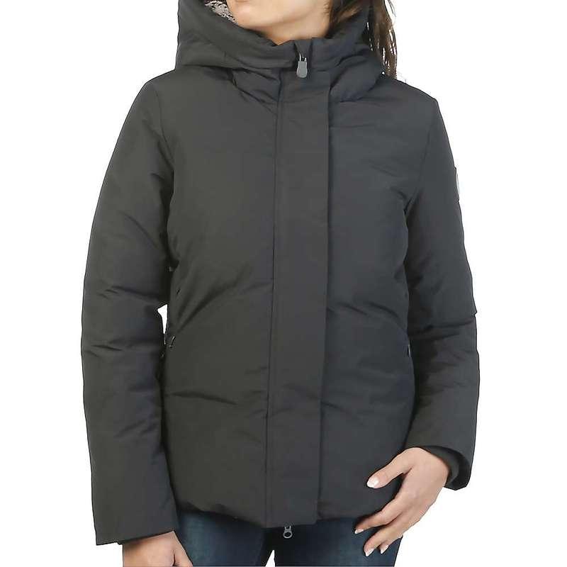 セイブ ザ ダック レディース ジャケット・ブルゾン アウター Save The Duck Women's Faux Fur Lined Parka Jacket 1177 Grey Black