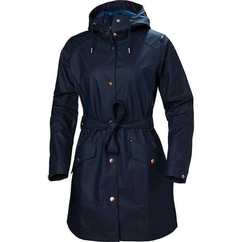 ヘリーハンセン レディース ジャケット・ブルゾン アウター Helly Hansen Women's Kirkwall II Raincoat NAVY