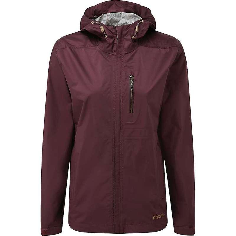 シャーパ レディース ジャケット・ブルゾン アウター Sherpa Women's Kunde Jacket Ani Burgundy5L3ARj4