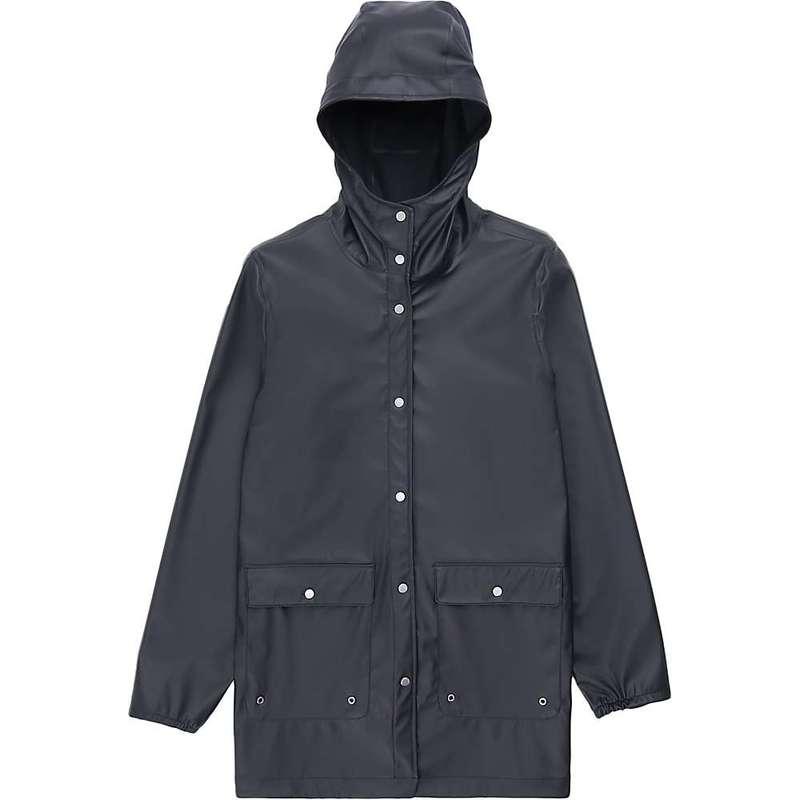 ハーシャル レディース ジャケット・ブルゾン アウター Herschel Supply Co Women's Rain Parka Black BLK
