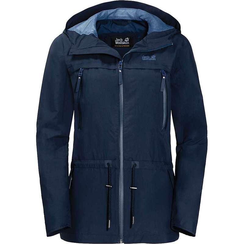 ジャックウルフスキン レディース ジャケット・ブルゾン アウター Jack Wolfskin Women's Fairview Jacket Midnight Blue