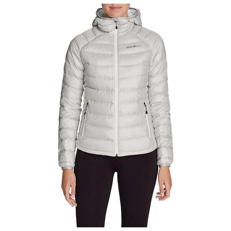 エディー バウアー レディース ジャケット・ブルゾン アウター Eddie Bauer First Ascent Women's Downlight Stormdown Hooded Jacket Frost Grey