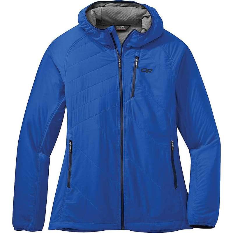 アウトドアリサーチ レディース ジャケット・ブルゾン アウター Outdoor Research Women's Refuge Air Hooded Jacket Azure