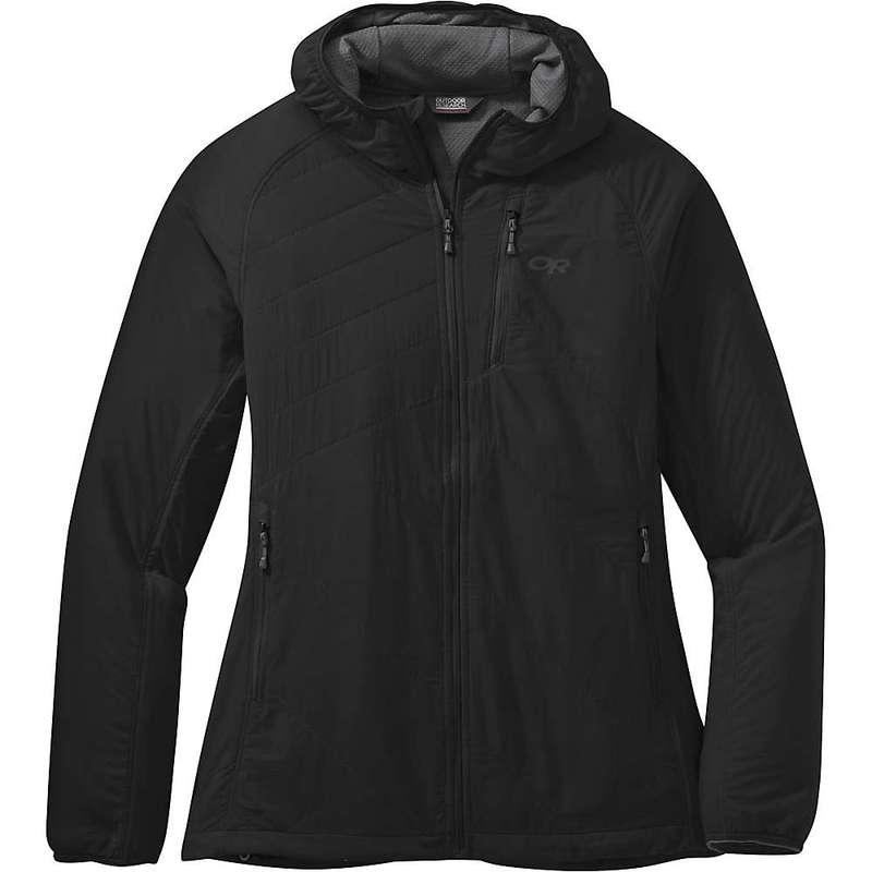 アウトドアリサーチ レディース ジャケット・ブルゾン アウター Outdoor Research Women's Refuge Air Hooded Jacket Black