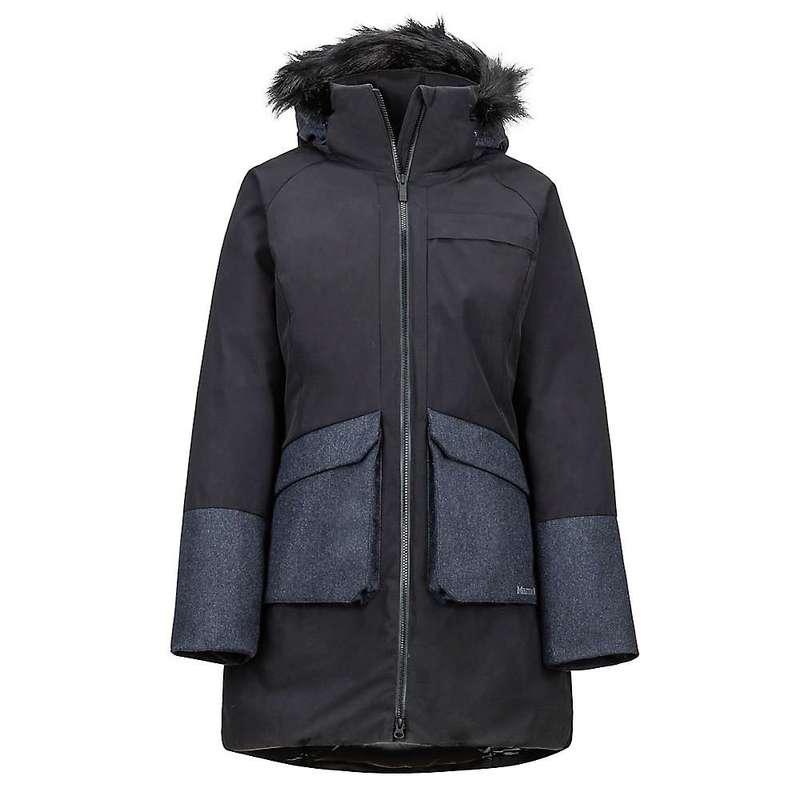 マーモット レディース ジャケット・ブルゾン アウター Marmot Women's Jules Jacket Black / Black Heather