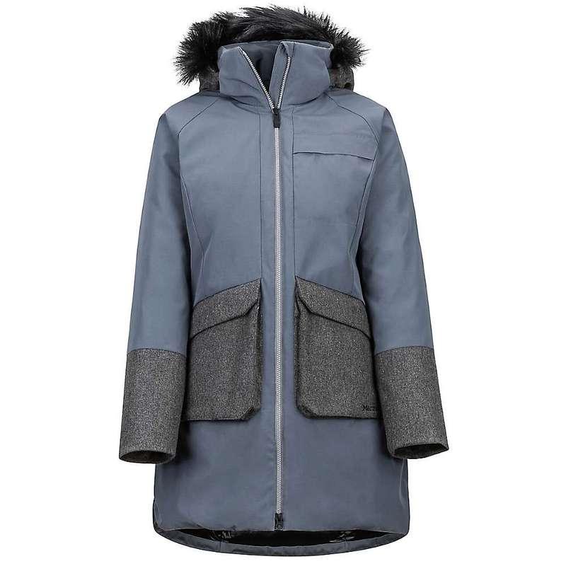 マーモット レディース ジャケット・ブルゾン アウター Marmot Women's Jules Jacket Steel Onyx / Grey Heather