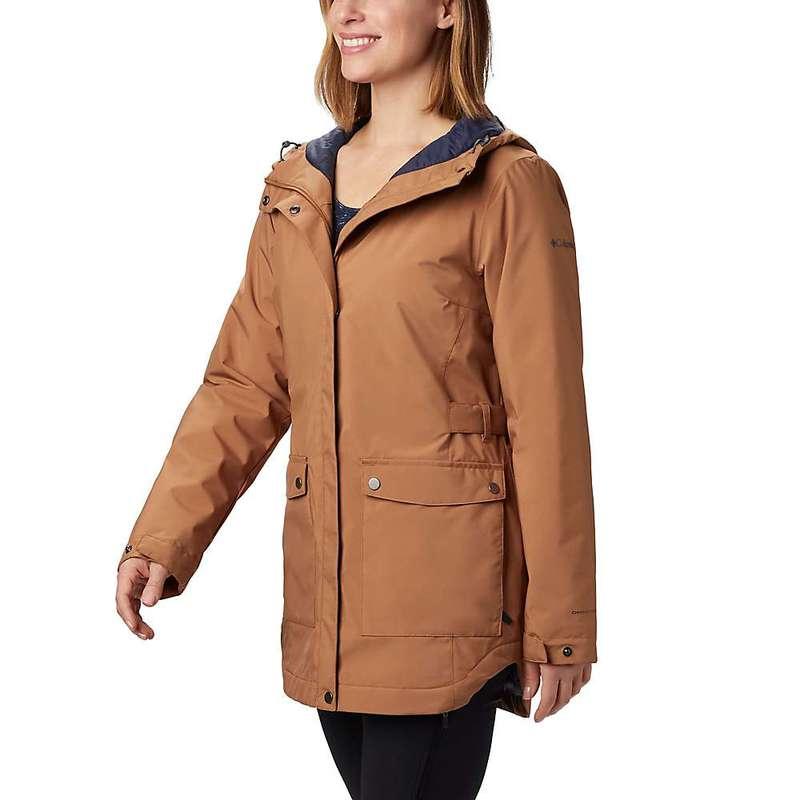 コロンビア レディース ジャケット・ブルゾン アウター Columbia Women's Here and There Insulated Trench Jacket Camel Brown