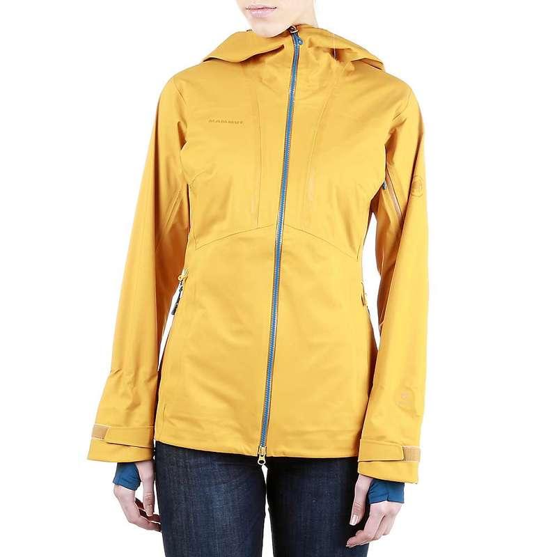 マムート レディース ジャケット・ブルゾン アウター Mammut Women's Haldigrat HS Hooded Jacket Golden