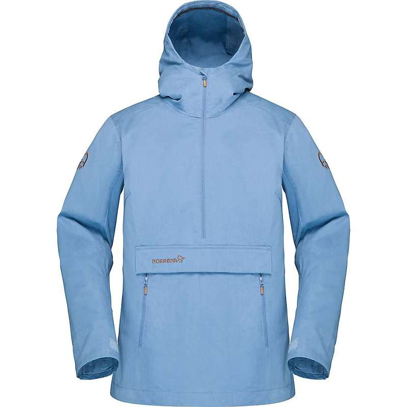 ノローナ レディース ジャケット・ブルゾン アウター Norrona Women's Svalbard Cotton Anorak Jacket Coronet Blue