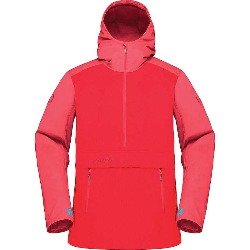 ノローナ レディース ジャケット・ブルゾン アウター Norrona Women's Svalbard Cotton Anorak Jacket Crisp Ruby