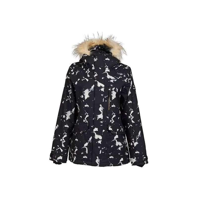 ニキータ レディース ジャケット・ブルゾン アウター Nikita Women's Hawthorne Print Jacket Black and White Light