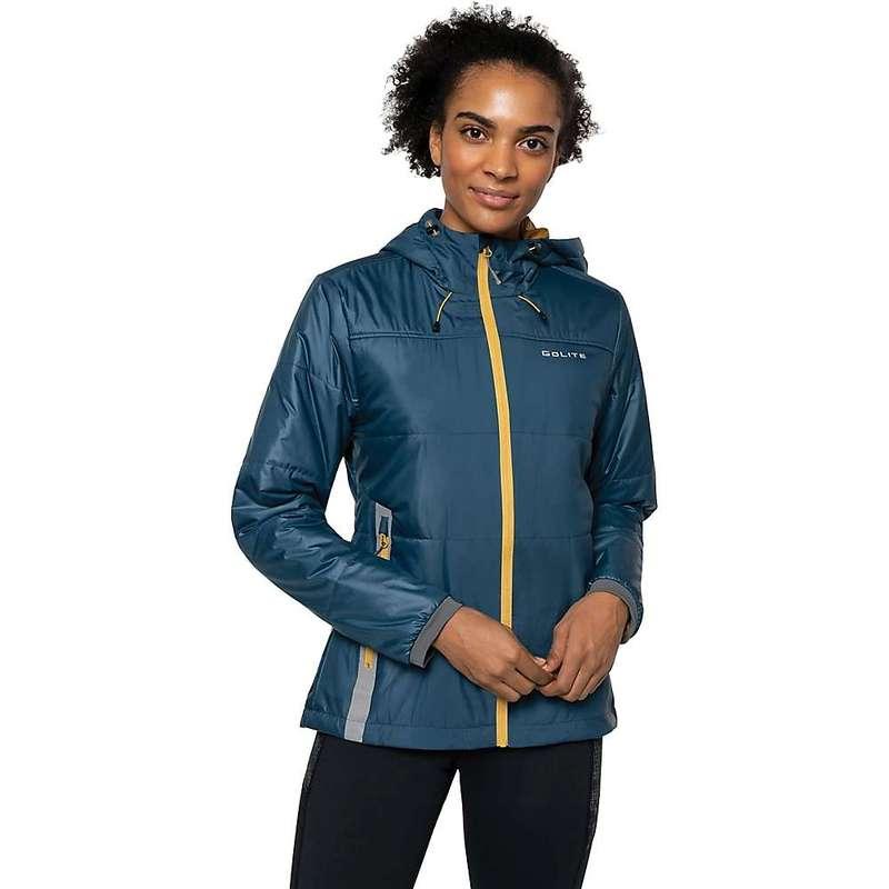 ゴーライト レディース ジャケット・ブルゾン アウター GoLite Women's ReFill Eco100 Jacket Tidal