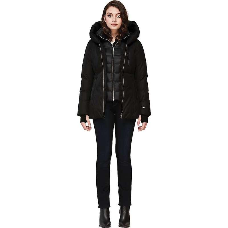 ソイアアンドキョウ レディース ジャケット・ブルゾン アウター Soia & Kyo Women's Fannia Coat Black