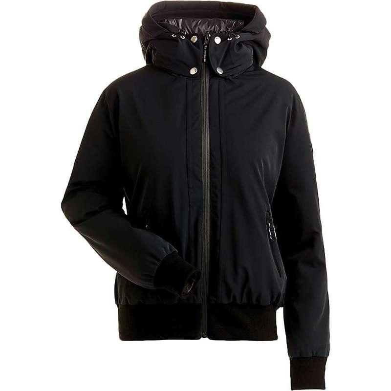 ニルズ レディース ジャケット・ブルゾン アウター NILS Women's Julie Reversible Bomber Jacket Black