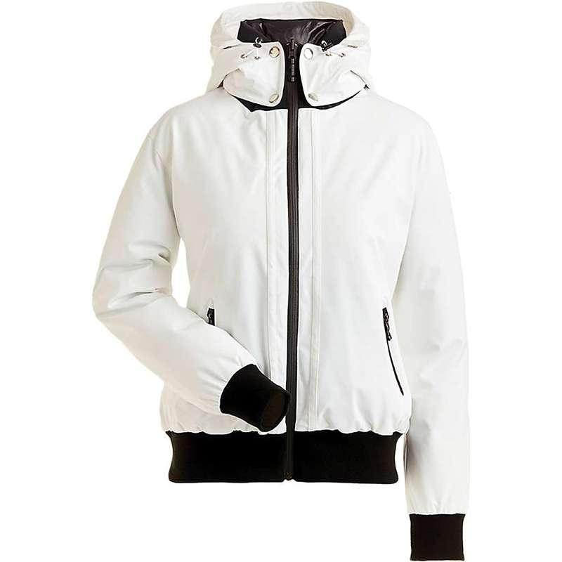 ニルズ レディース ジャケット・ブルゾン アウター NILS Women's Julie Reversible Bomber Jacket White