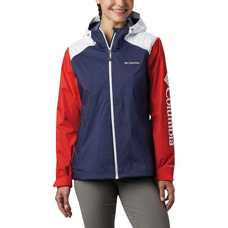 コロンビア レディース ジャケット・ブルゾン アウター Columbia Women's Inner Limits II Jacket Nocturnal/Bold Orange/White
