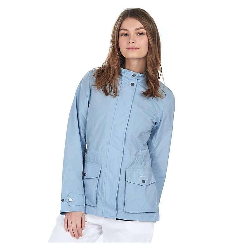 バーブァー レディース ジャケット・ブルゾン アウター Barbour Women's Lucie Showerproof Jacket Chalk Blue