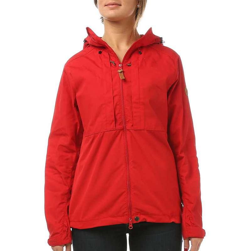 フェールラーベン レディース ジャケット・ブルゾン アウター Fjallraven Women's Abisko Lite Jacket Red / Red