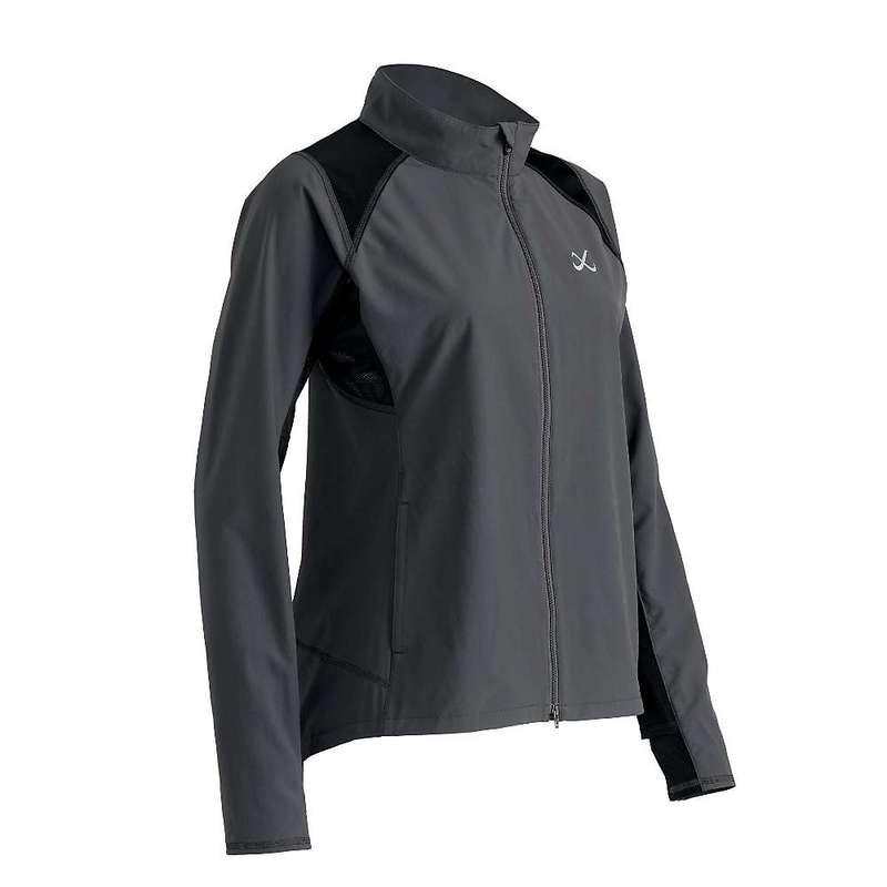 CW-X レディース ジャケット・ブルゾン アウター CW-X Women's Endurance Run Jacket Charcoal Grey