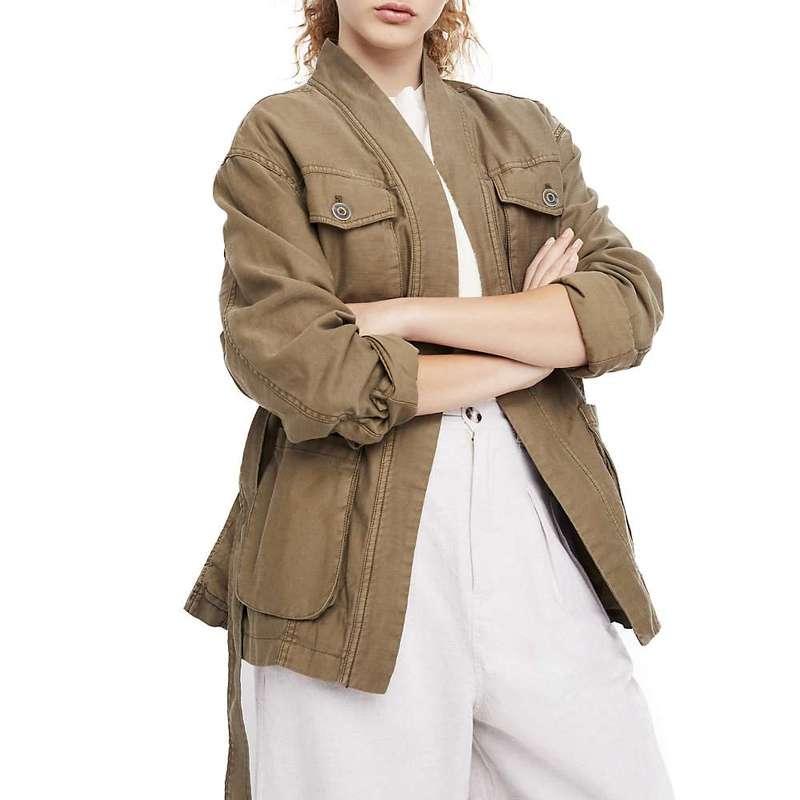 フリーピープル レディース ジャケット・ブルゾン アウター Free People Women's In Our Nature Jacket Moss