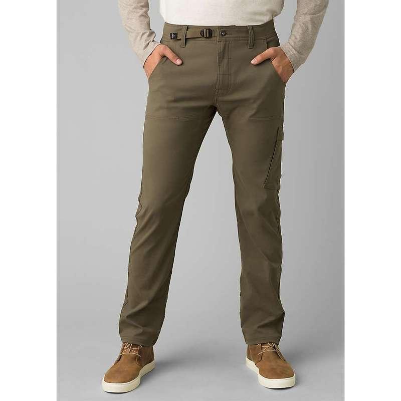 プラーナ メンズ カジュアルパンツ ボトムス Prana Men's Stretch Zion Straight Pant Slate Green