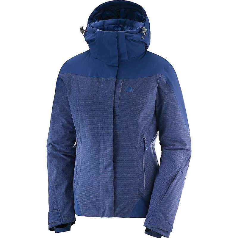 サロモン レディース ジャケット・ブルゾン アウター Salomon Women's Icerocket Jacket + Medieval Blue
