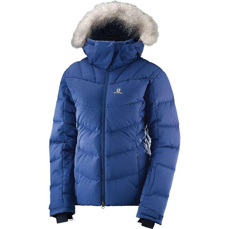 サロモン レディース ジャケット・ブルゾン アウター Salomon Women's Icetown Jacket Medieval Blue