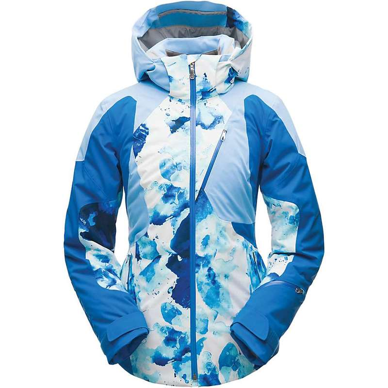 スパイダー レディース ジャケット・ブルゾン アウター Spyder Women's Leader Jacket Frequency Turkish Sea / Blue Ice / Turkish Sea