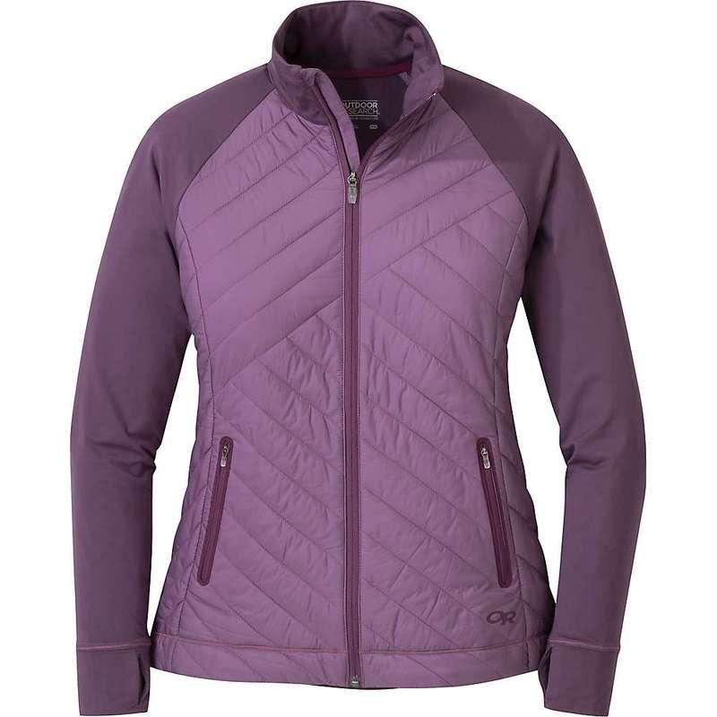 アウトドアリサーチ レディース ジャケット・ブルゾン アウター Outdoor Research Women's Melody Hybrid Full Zip Jacket Pacific Plum
