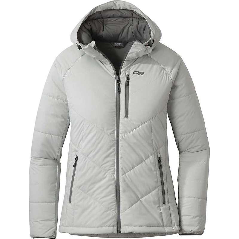 アウトドアリサーチ レディース ジャケット・ブルゾン アウター Outdoor Research Women's Refuge Hooded Jacket Alloy