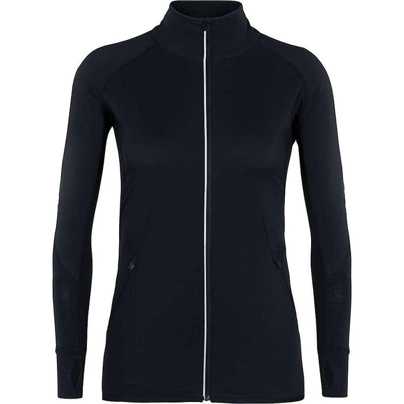 アイスブレーカー レディース ジャケット・ブルゾン アウター Icebreaker Women's Tech Trainer Hybrid Jacket Black