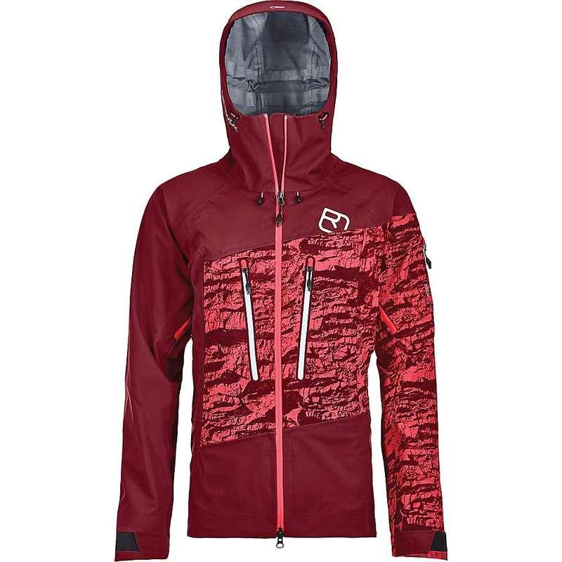 オルトボックス レディース ジャケット・ブルゾン アウター Ortovox Women's 3L Guardian Shell Jacket Dark Blood