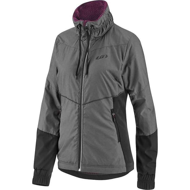 イルスガーナー レディース ジャケット・ブルゾン アウター Louis Garneau Women's Mondavi Jacket Black / Grey