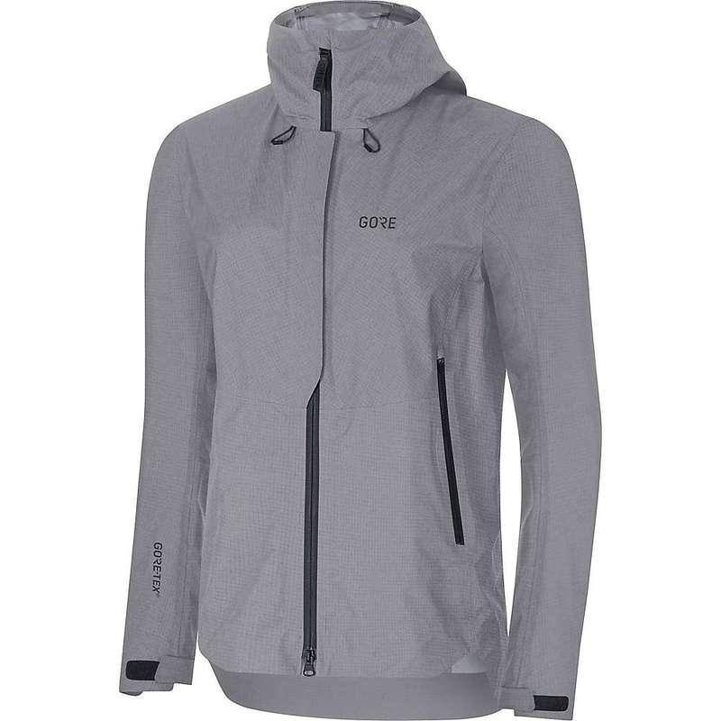 ゴアウェア レディース ジャケット・ブルゾン アウター Gore Wear H5 Women's GTX Active Hooded Jacket Terra Grey