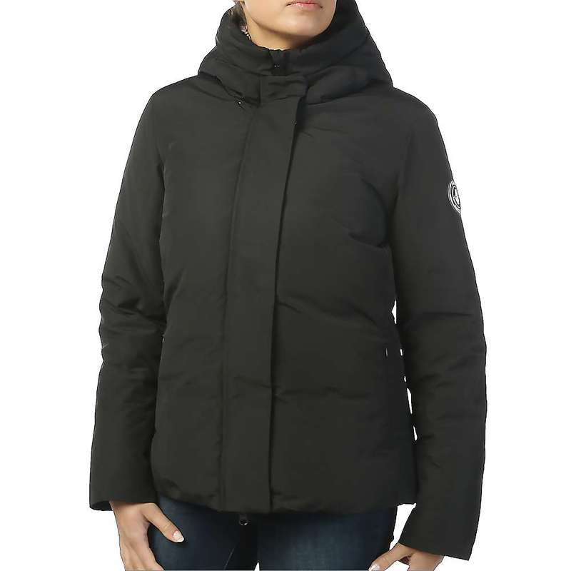 セイブ ザ ダック レディース ジャケット・ブルゾン アウター Save The Duck Women's Faux Fur Lined Parka Jacket 01 Black