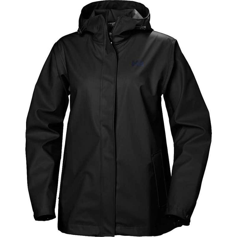 ヘリーハンセン レディース ジャケット・ブルゾン アウター Helly Hansen Women's Moss Jacket BLACK