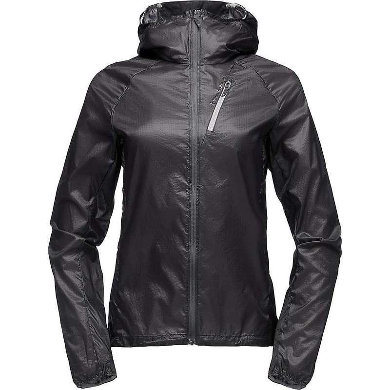 ブラックダイヤモンド レディース ジャケット・ブルゾン アウター Black Diamond Women's Distance Wind Shell Jacket Black
