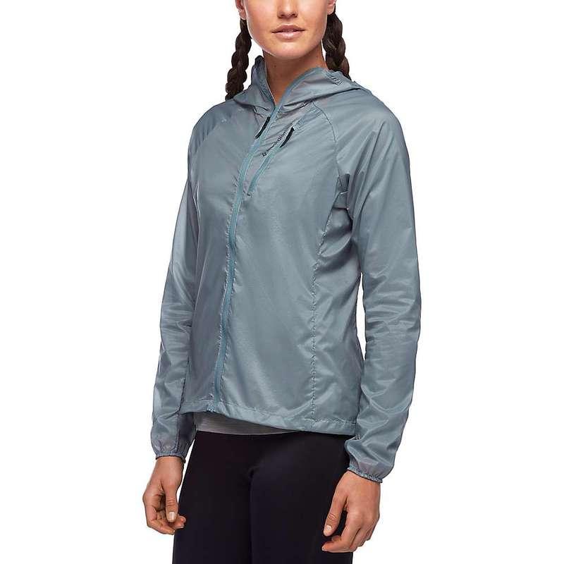 ブラックダイヤモンド レディース ジャケット・ブルゾン アウター Black Diamond Women's Distance Wind Shell Jacket Blue Ash