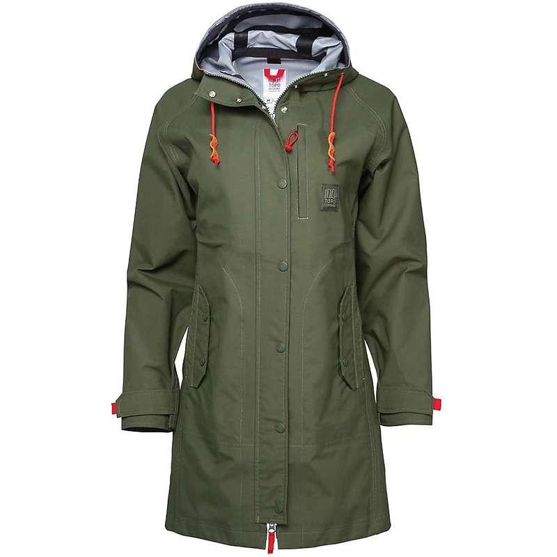 トポ・デザイン レディース ジャケット・ブルゾン アウター Topo Designs Women's Rain Coat Olive
