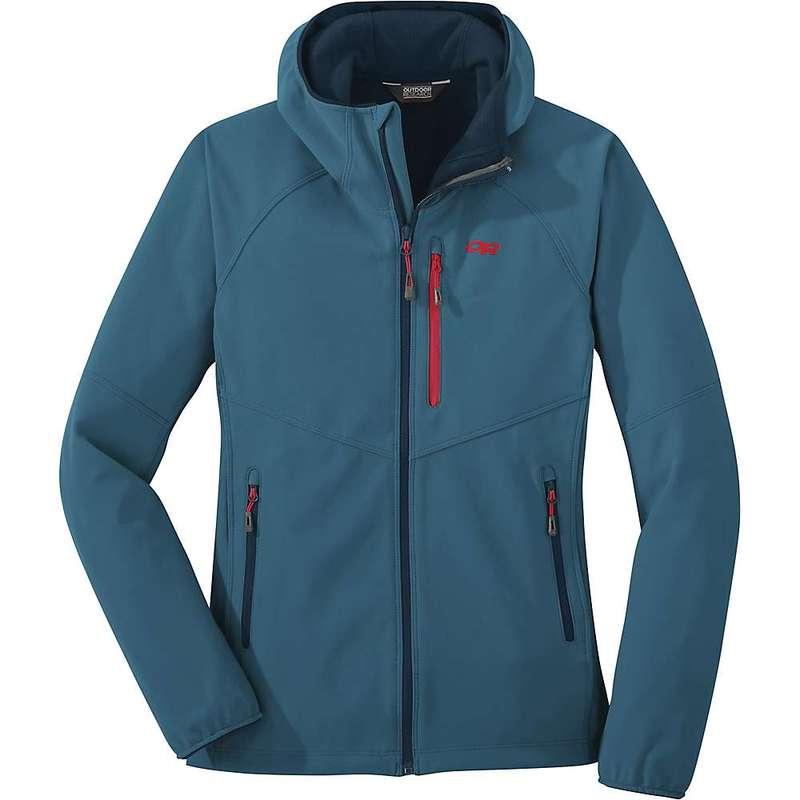 アウトドアリサーチ レディース ジャケット・ブルゾン アウター Outdoor Research Women's Ferrosi Grid Hooded Jacket Celestial Blue