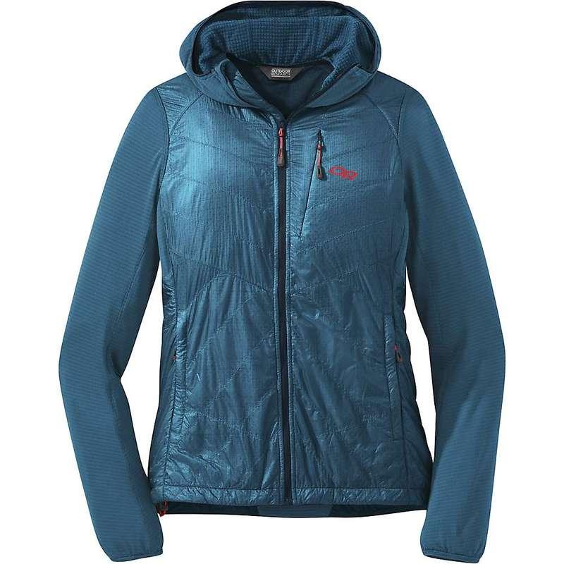 アウトドアリサーチ レディース ジャケット・ブルゾン アウター Outdoor Research Women's Vigor Hybrid Hooded Jacket Celestial Blue