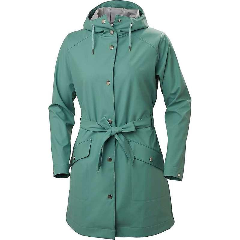 ヘリーハンセン レディース ジャケット・ブルゾン アウター Helly Hansen Women's Kirkwall II Raincoat Jade