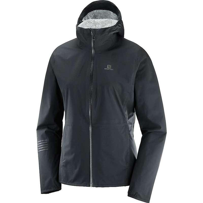 サロモン レディース ジャケット・ブルゾン アウター Salomon Women's Lightning Waterproof Jacket Black
