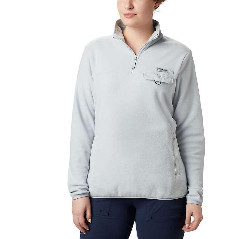 コロンビア レディース ジャケット・ブルゾン アウター Columbia Women's Harborside II Fleece Pullover Top Cirrus Grey Heather