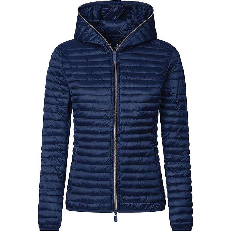 セイブ ザ ダック レディース ジャケット・ブルゾン アウター Save the Duck Women's IRIS Jacket Navy Blue